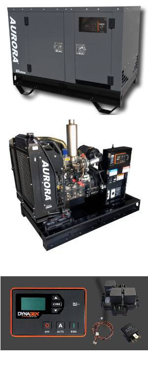 Images of Aurora Diesel Generator Components
