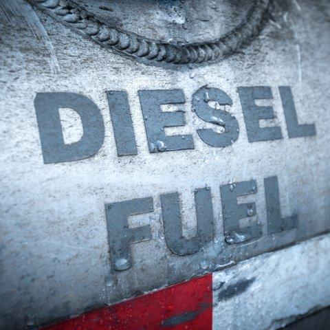 Photo of diesel fuel tank